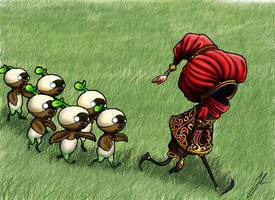 Little followers by Rienquish