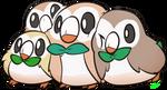 Rowlet doodle