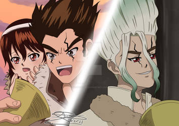 [FanArt] Dr. Stone S2 - Chapter 2