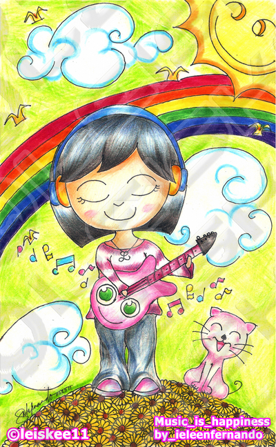 Music is Happiness by flyingsnow11 by flyingsnow11