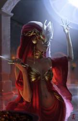 The Red Oracle by Nastya-Lehn