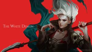 The White Demon by Nastya-Lehn