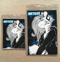 AnthroCon Badge Pre-Orders by INKTigerArt