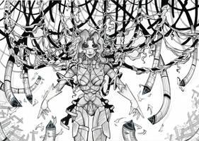 Cyberpunk: Medusa by IpernovaOfMine
