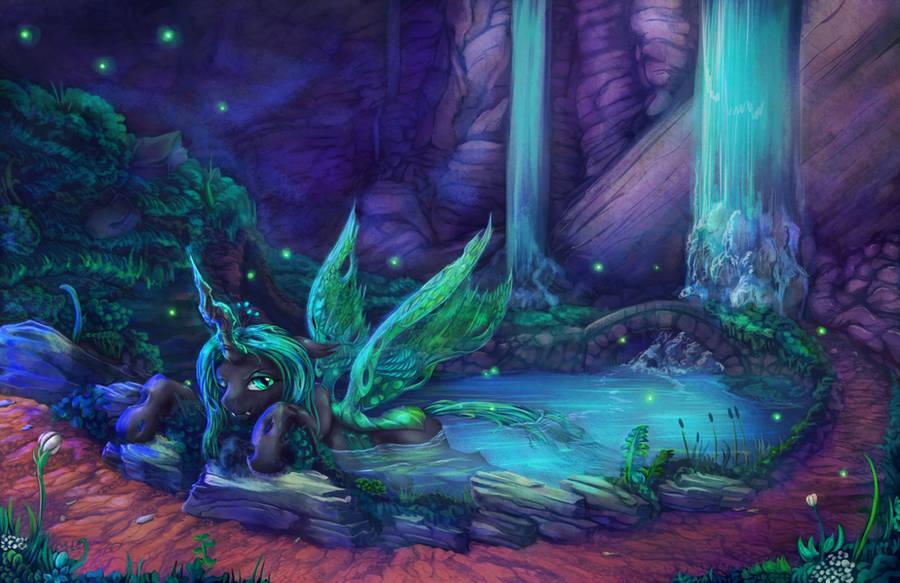 The Grove of Chrysalis by viwrastupr