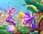 Triptych - Pinkie: what are you doing?