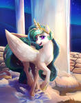 When the sun is away Celestia will play.