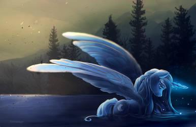 Luna: after the fire - Dec 3rd by viwrastupr