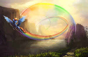 Rainboom redo - Dec 9th. by viwrastupr
