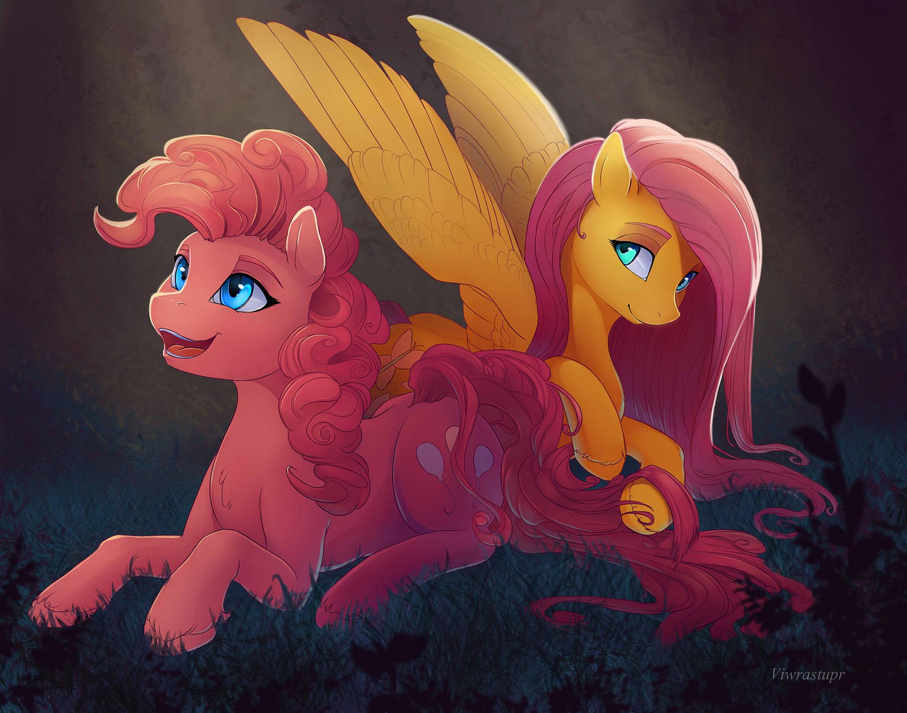 The story of Pinkie's curls