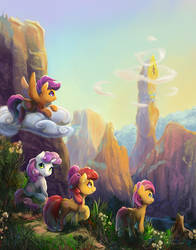 CMC - Crusaders of the Lost Mark by viwrastupr
