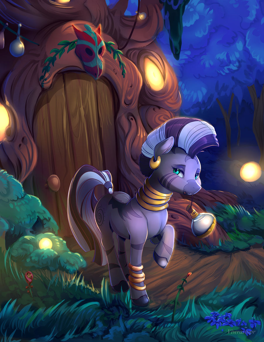 Zecora in the Everfree - close up