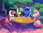 Minuette! .... and friends. close up.