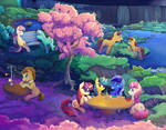 Background Ponies - full