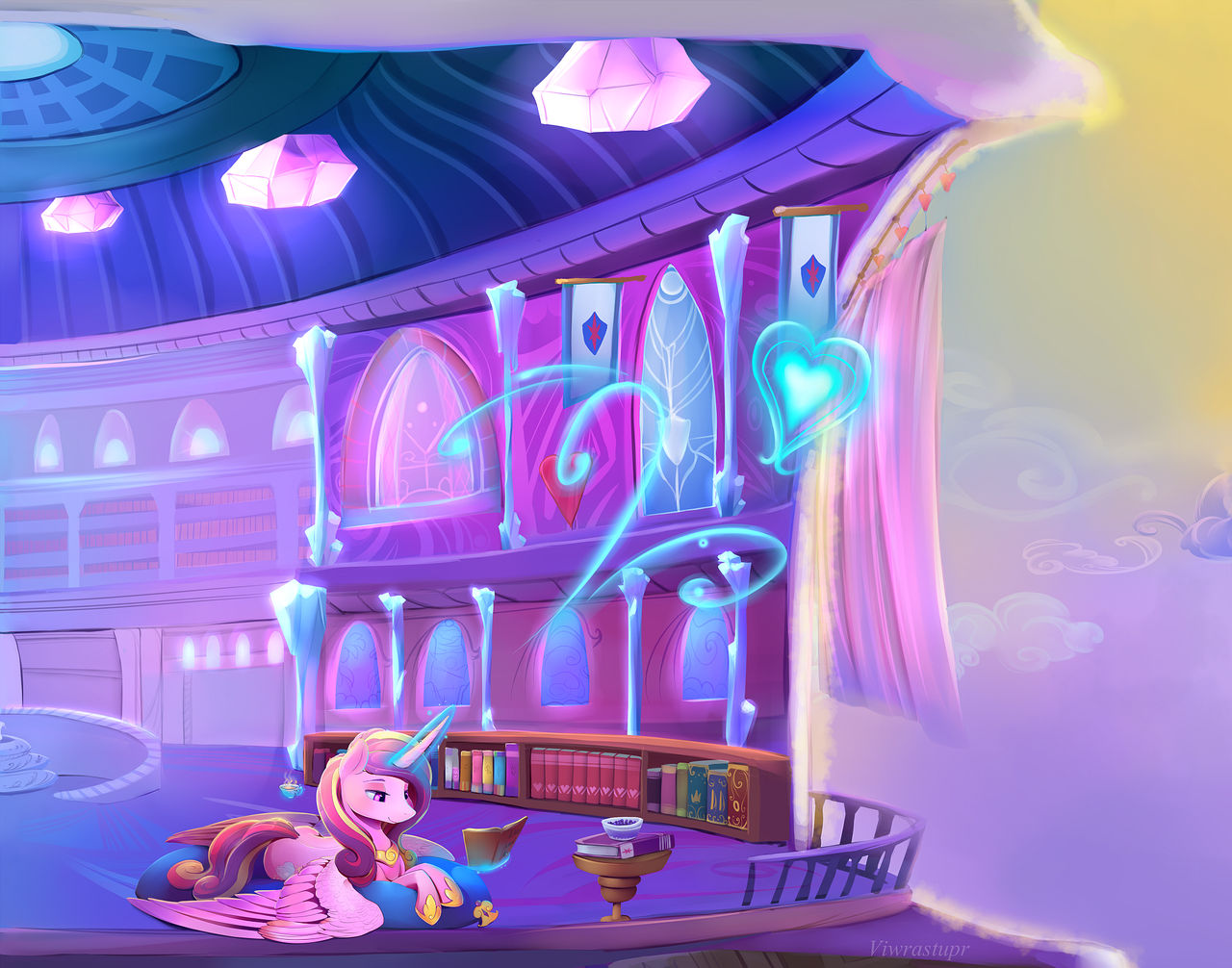 Princess Cadance Reads - Full
