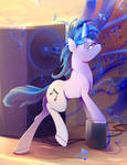 Vinyl Scratch Close up