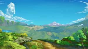 <b>Green Background Landscape</b><br><i>viwrastupr</i>