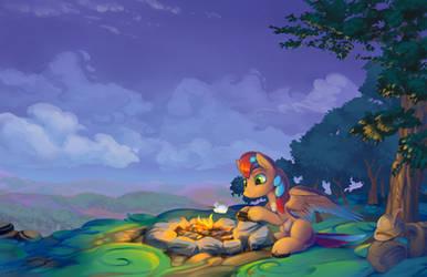 A Warm Campfire