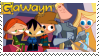 Gawayn Stamp by EscarlataFox