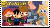 Gawayn Stamp by EscarlataFox