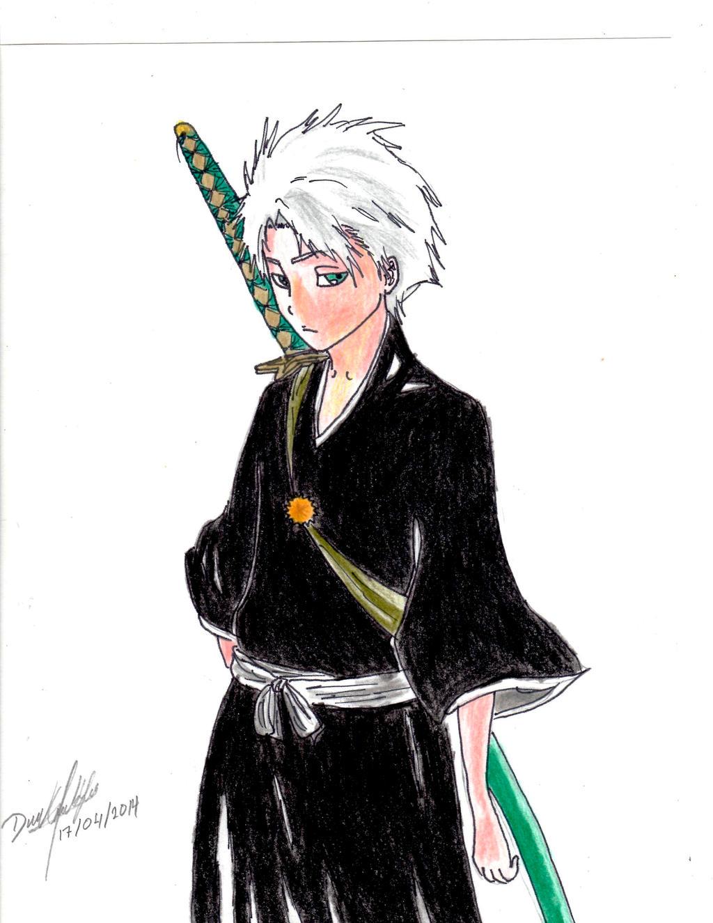 Hitsugaya Toshiro by danielcamilo