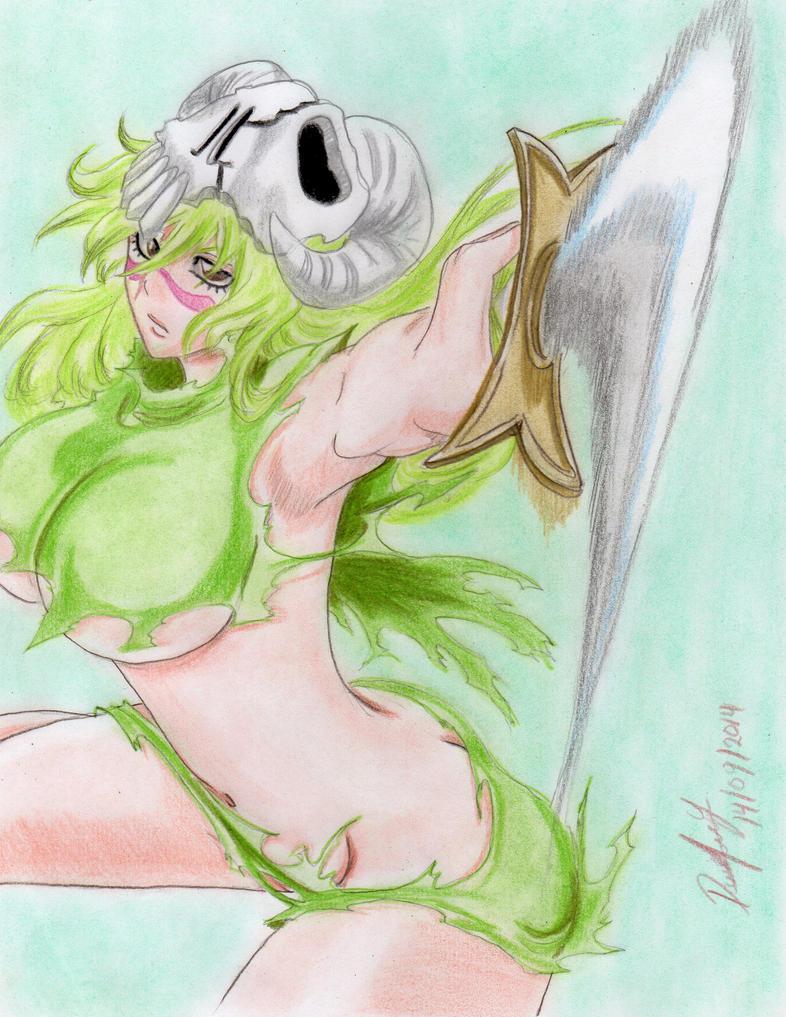 Nelliel Tu Odelschwanck (Bleach Cover Volume 34) by danielcamilo