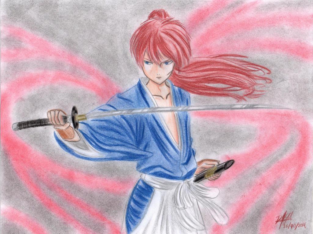 Kenshin Himura (Hitokiri Battosai) by danielcamilo