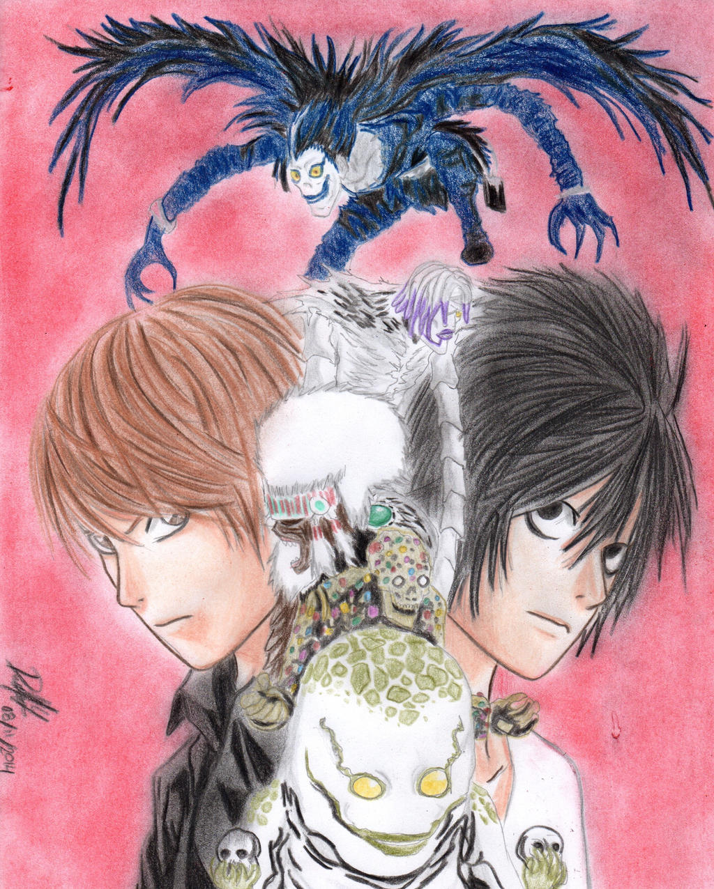 Kira and L by danielcamilo