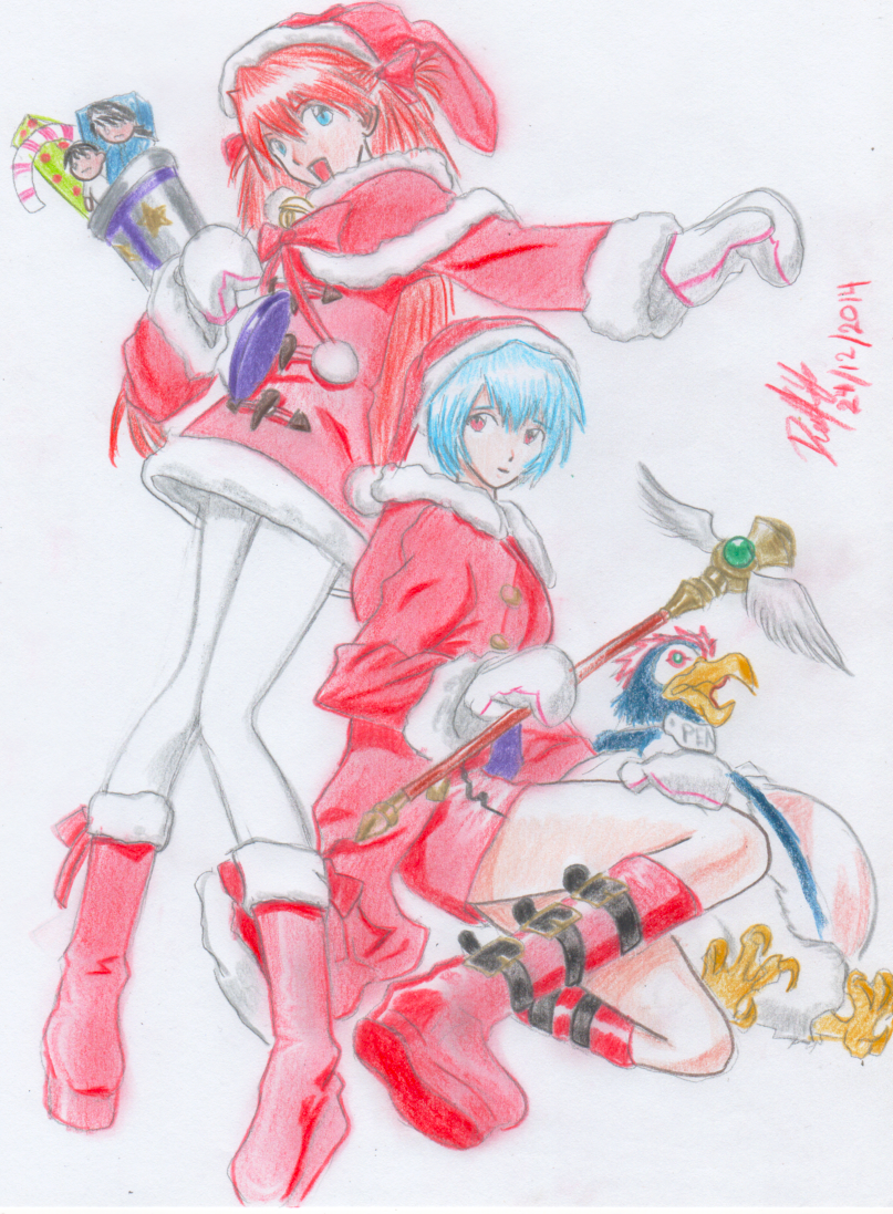 Feliz Navidad y Prospero 2015 by danielcamilo