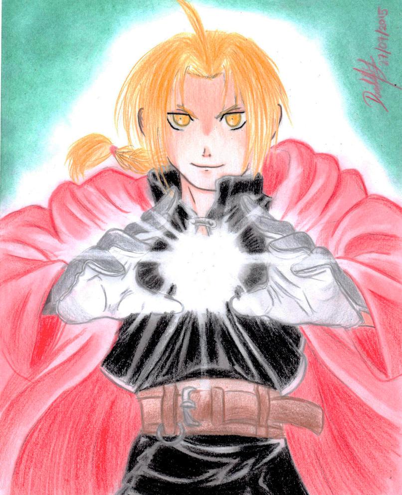 Edward Elric by danielcamilo