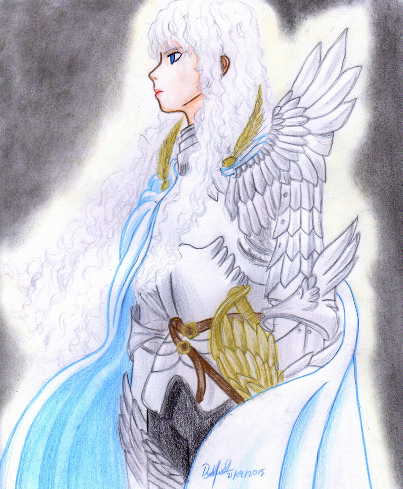 Griffith  (The Hawk of the Light) by danielcamilo