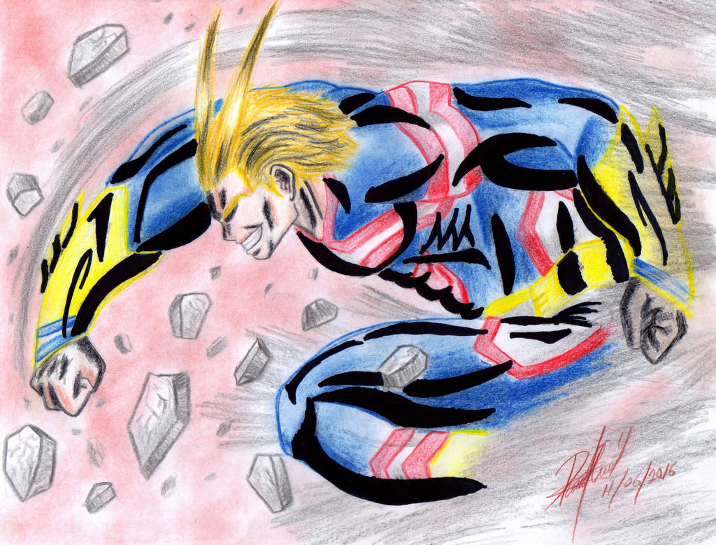 All Might by danielcamilo