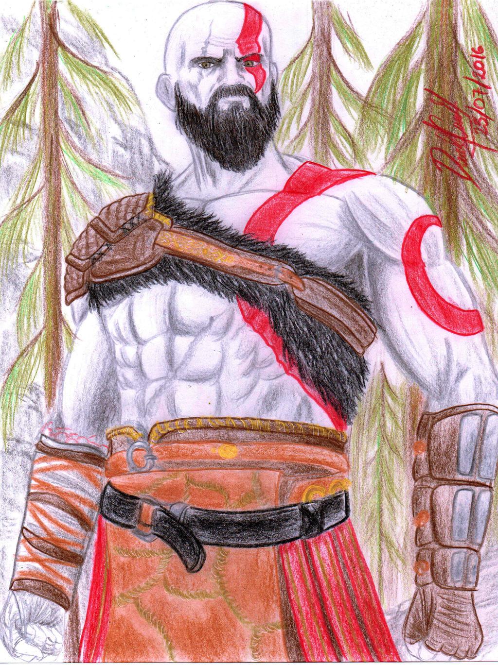 Kratos (God of War 2016) by danielcamilo