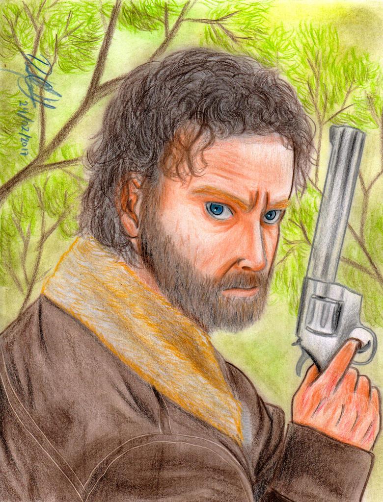 Rick Grimes (The Walking Dead) by danielcamilo