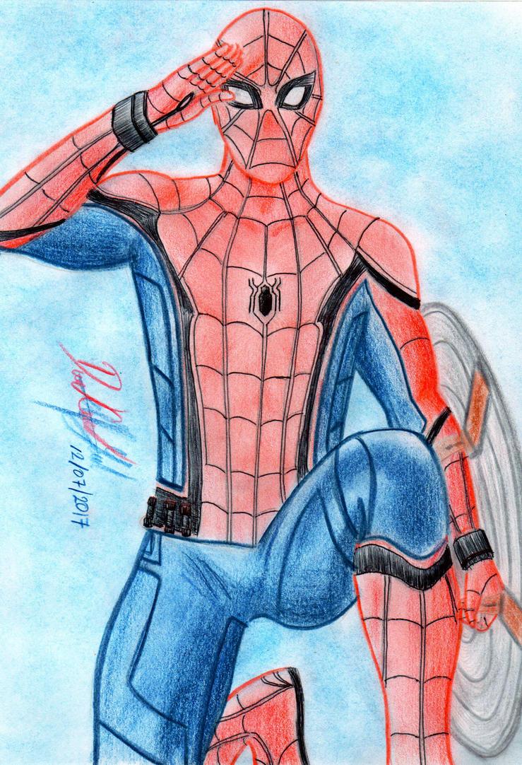 Spider-Man (MCU) by danielcamilo