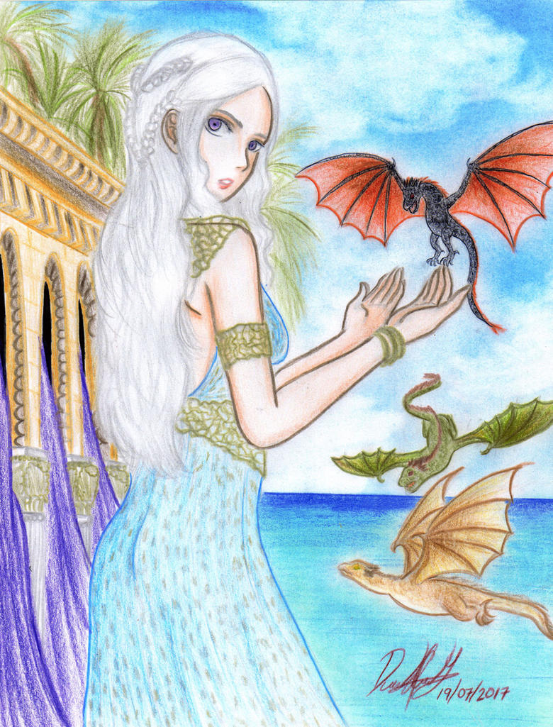 Mother of Dragons (Book version) by danielcamilo