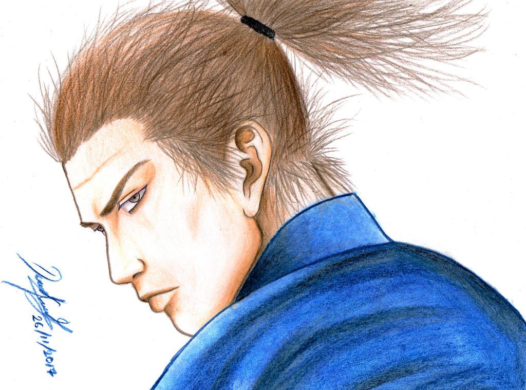 Musashi Miyamoto (Vagabond) by danielcamilo