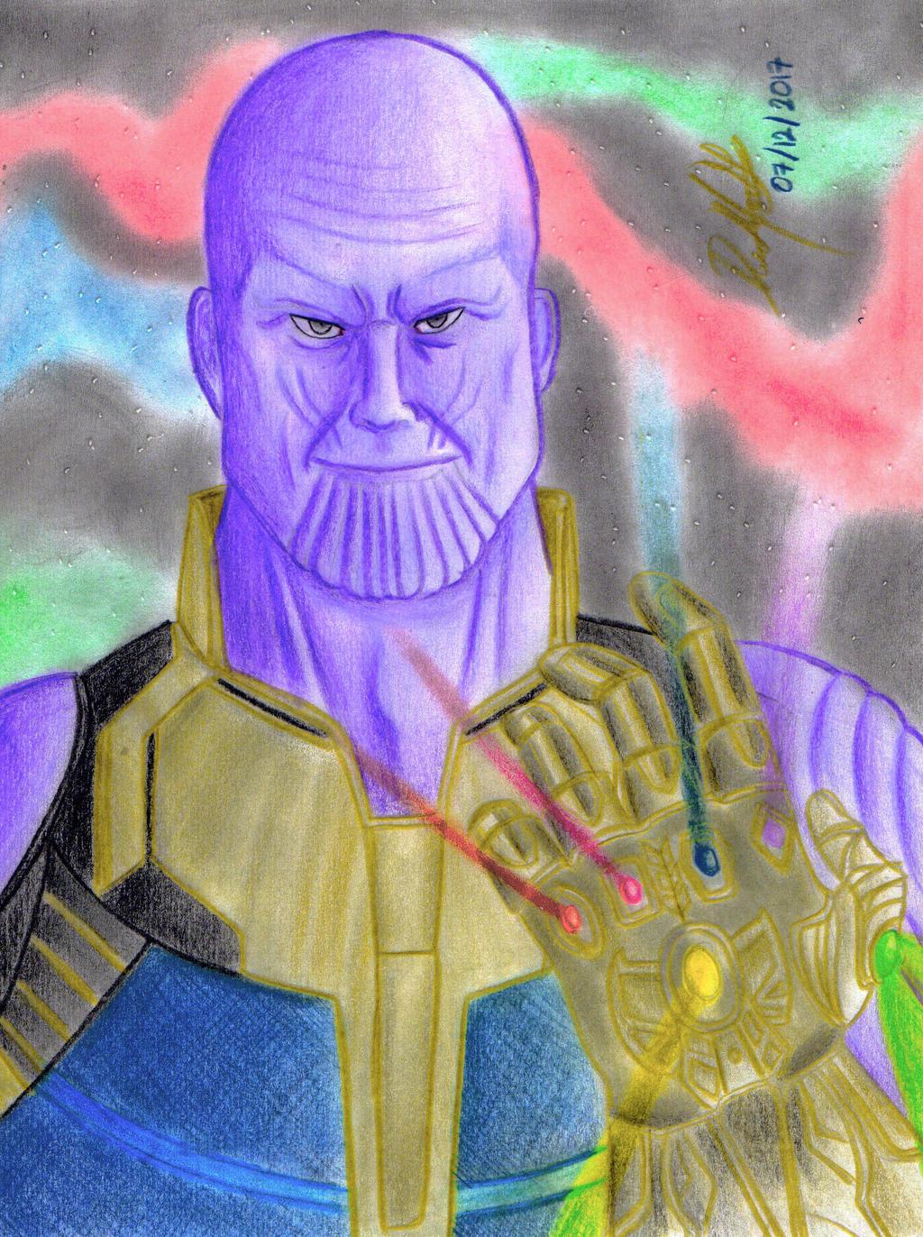 Thanos (MCU) by danielcamilo