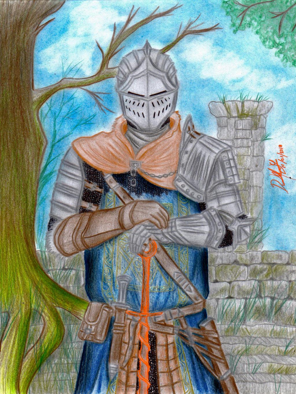 Chosen Undead (Dark Souls) by danielcamilo