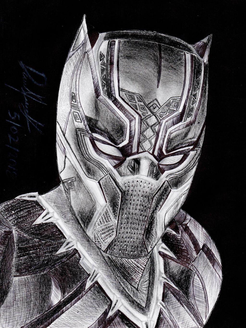 Black Panther (MCU version) by danielcamilo
