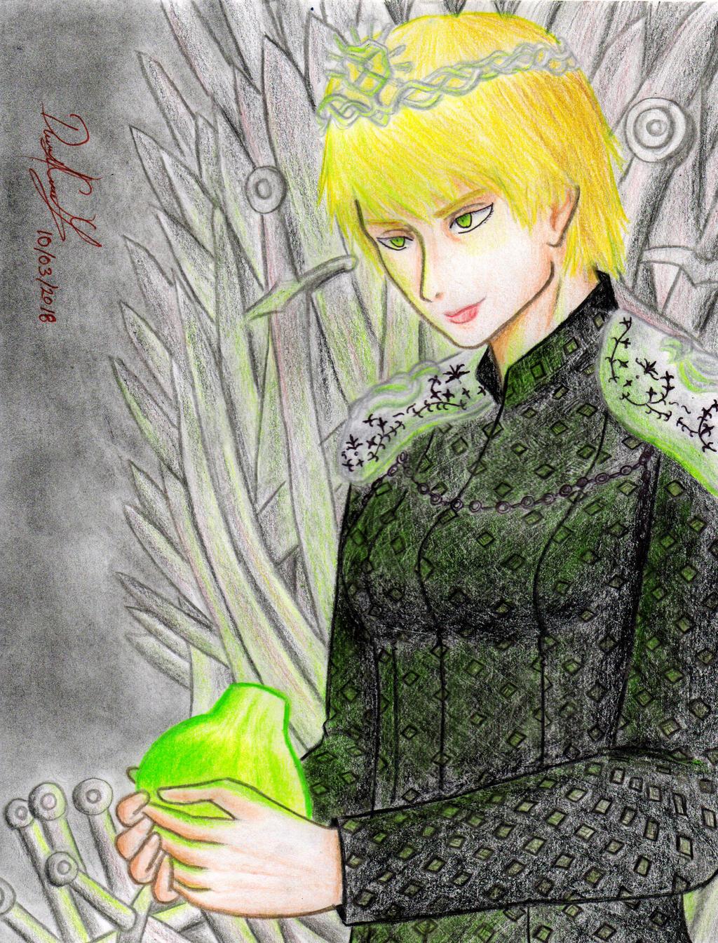 Cersei Lannister (TV show version) by danielcamilo