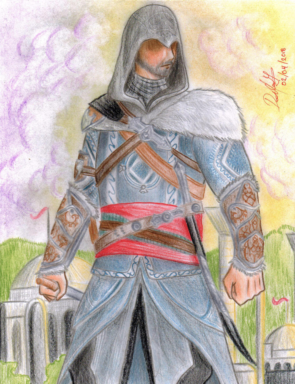 Ezio Auditore (Assassin's Creed: Revelations) by danielcamilo