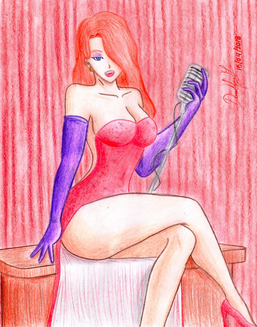 Jessica Rabbit by danielcamilo
