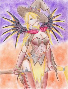 Mercy Witch (Overwatch)