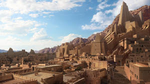 Desert City - Day