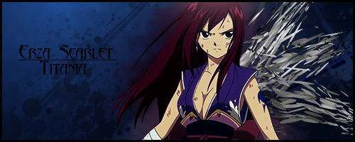 Fairy Tail - Erza Scarlet