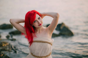Ariel by ascarletsails