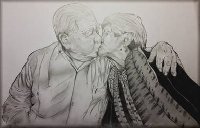 Comission Grandparents drawing