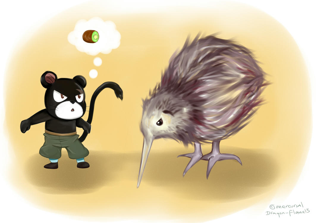 The wrong kind of Kiwi by Dragon-flame13 on deviantART