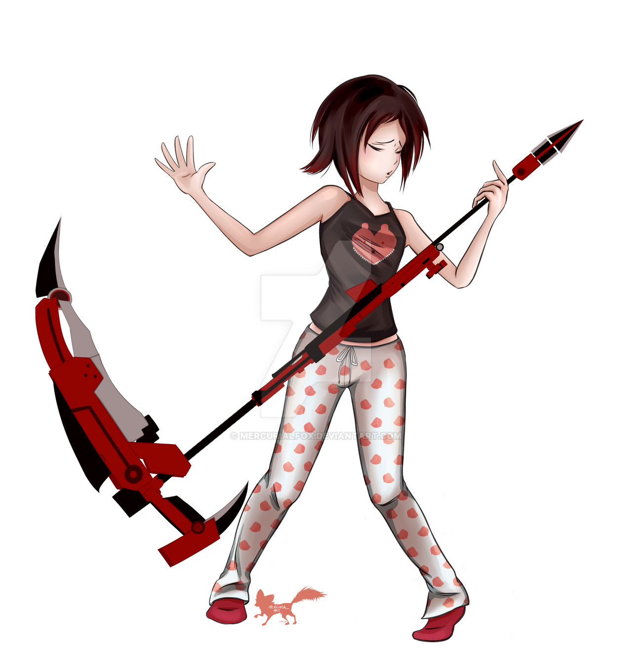 Rock on Ruby by Dragon-flame13